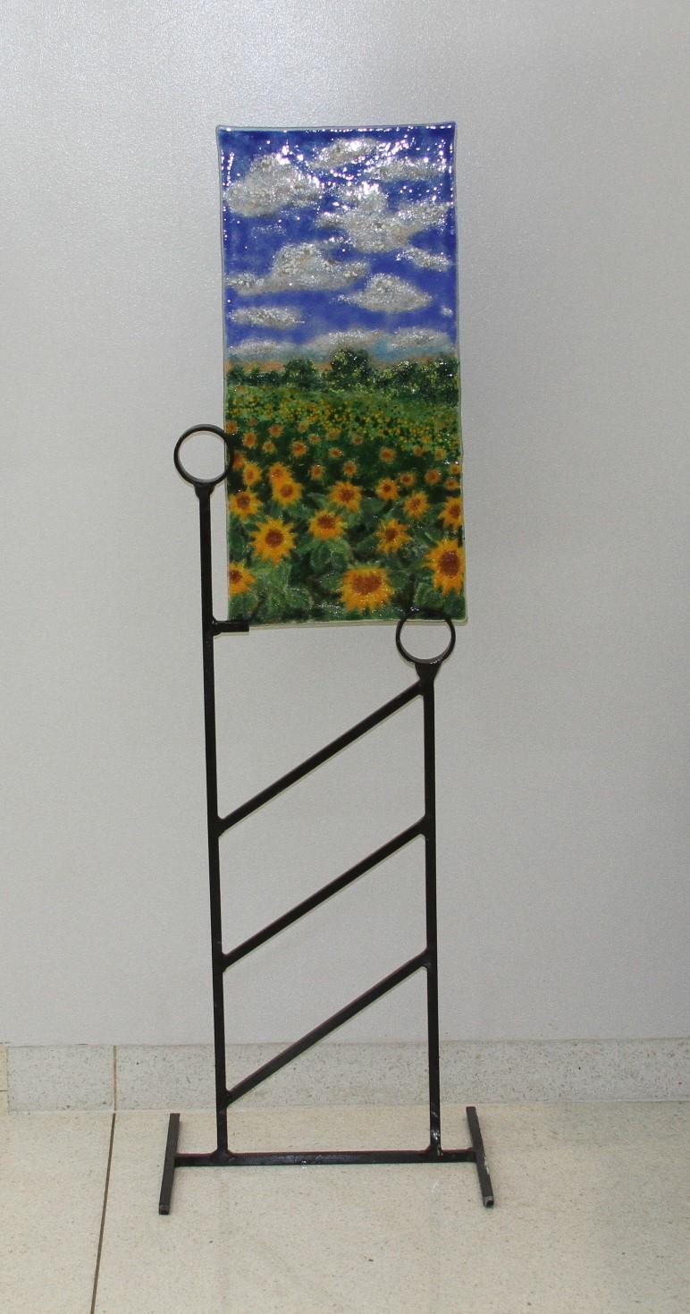 Sunflower Fields on HWY 105