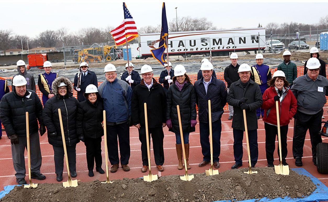 Historic Groundbreaking for Grand Island's Memorial Stadium
