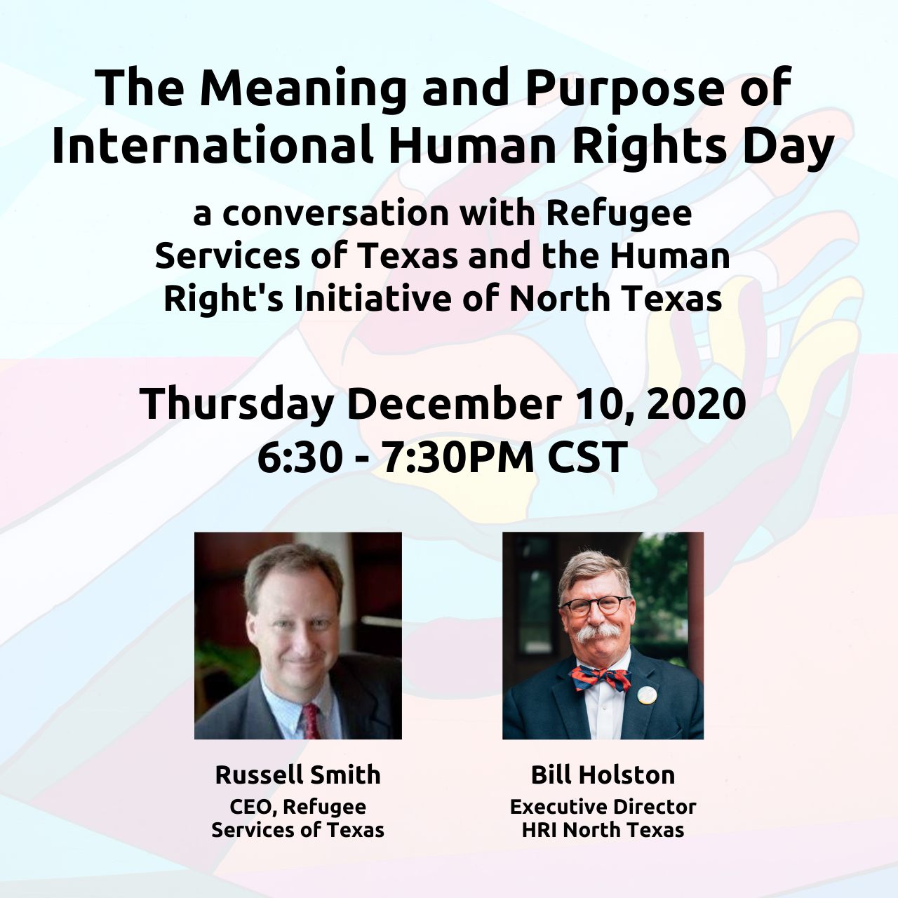The Meaning and Purpose of International Human Rights Day: a conversation with RST & HRI of North Texas