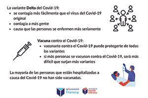 Delta Variant Poster Graphics (Spanish)