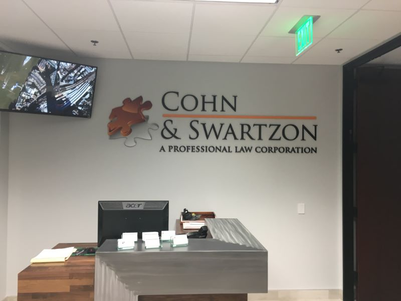 Lobby Signs Indoor Signs Office Signs Buena Park Fullerton