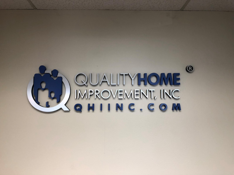 3D Letter Logo Lobby Signs Upland CA