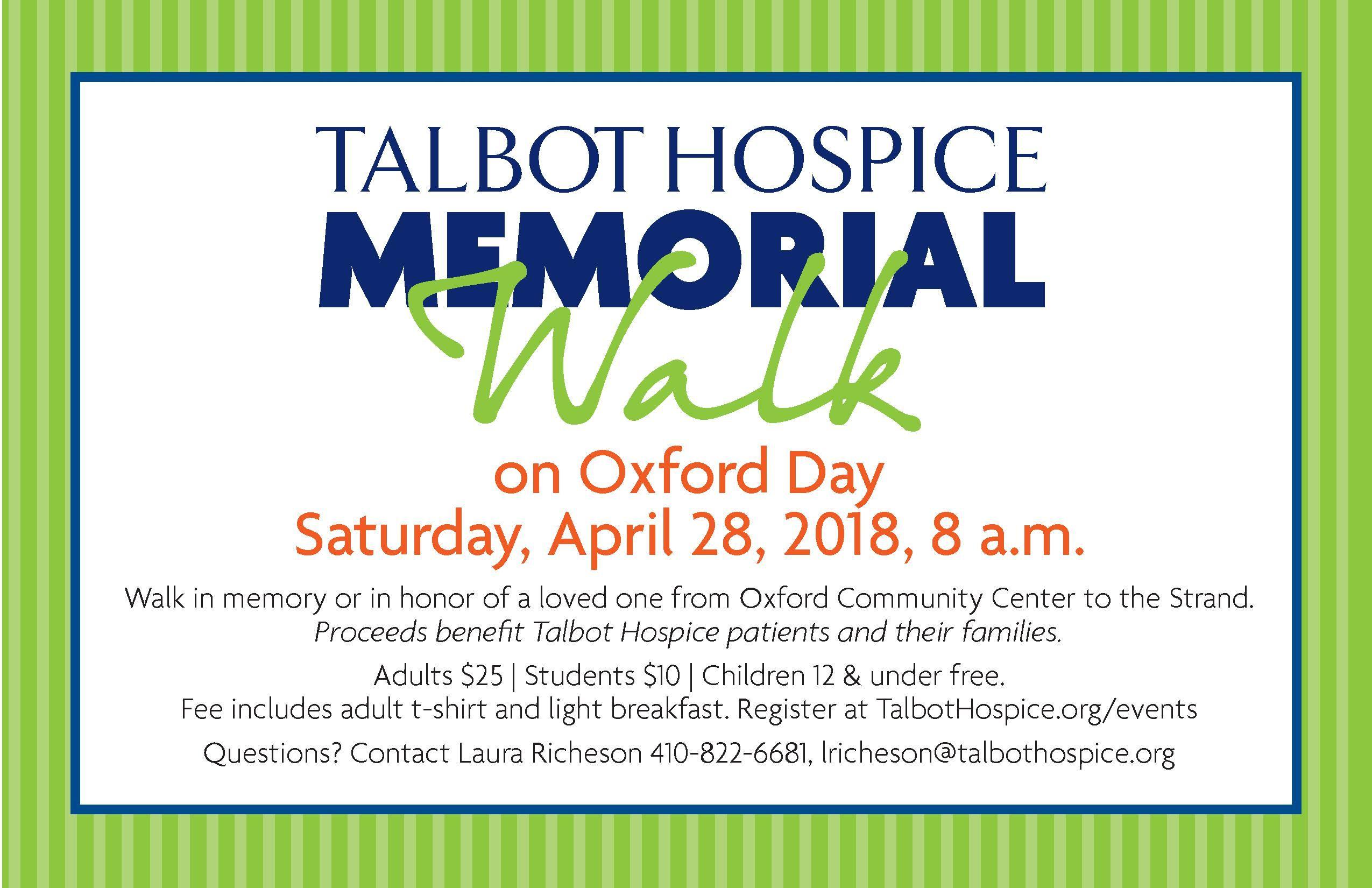 Hospice Memorial Walk Goes Virtual!