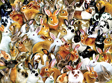 Bundle of Bunnies Puzzle