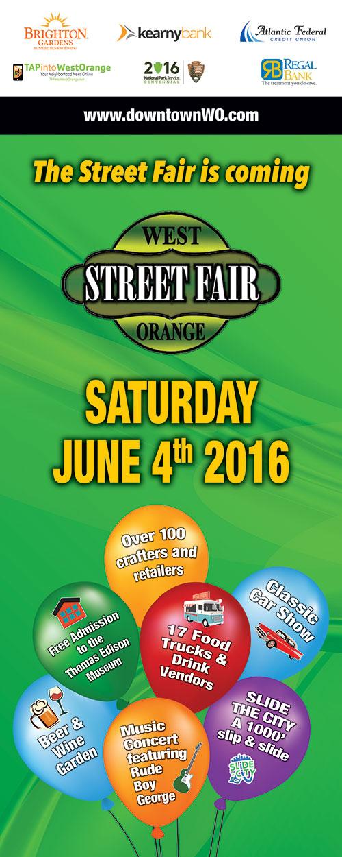 Banner 2'x5' - DWOA Street Fair