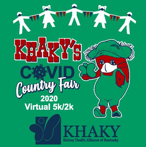 KHAKY COVID Country Fair Virtual 2K/5K