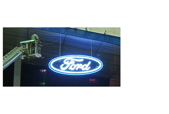 Ford Neon--Star of Texas Rodeo