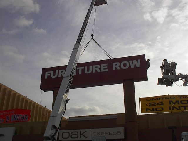 Furniture Row - Install