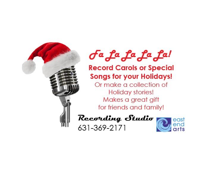 Recording Studio-Santa Hat Promo
