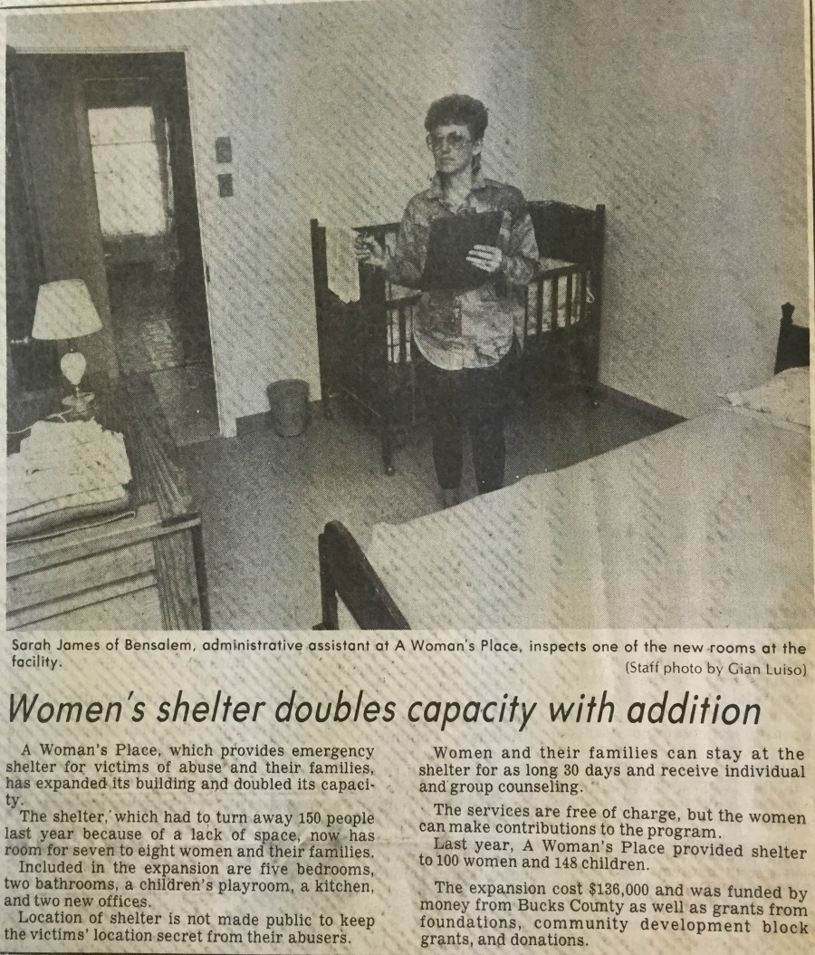 News article celebrating the new capacity at AWP's expanded shelter.