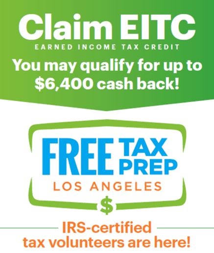 Bresee Partners with Free Tax Prep LA