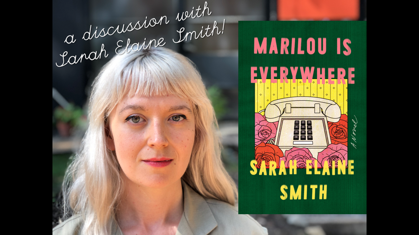 "Modern Fiction Book Club and Author Event: ""Marilou is Everywhere"""