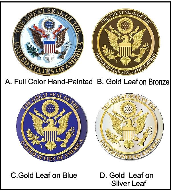 M7000B - Gold-Leaf Gilded  Plaques
