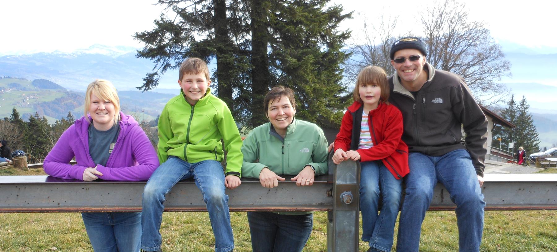 Swiss Host Family