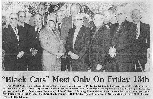 """Donor Spotlight: """"Black Cats"""" Meet Only on Friday the 13th"""