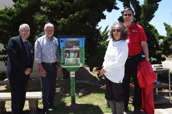 Peoples' Self-Help Housing Unveils New Little Free Library for Morro Bay Community