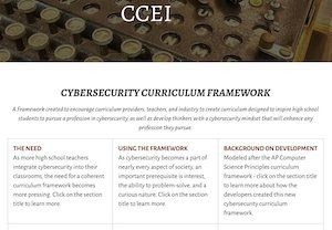 High School Cybersecurity Curriculum Guidelines