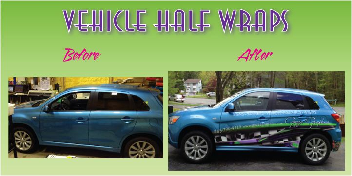 Vehicle Half Wraps