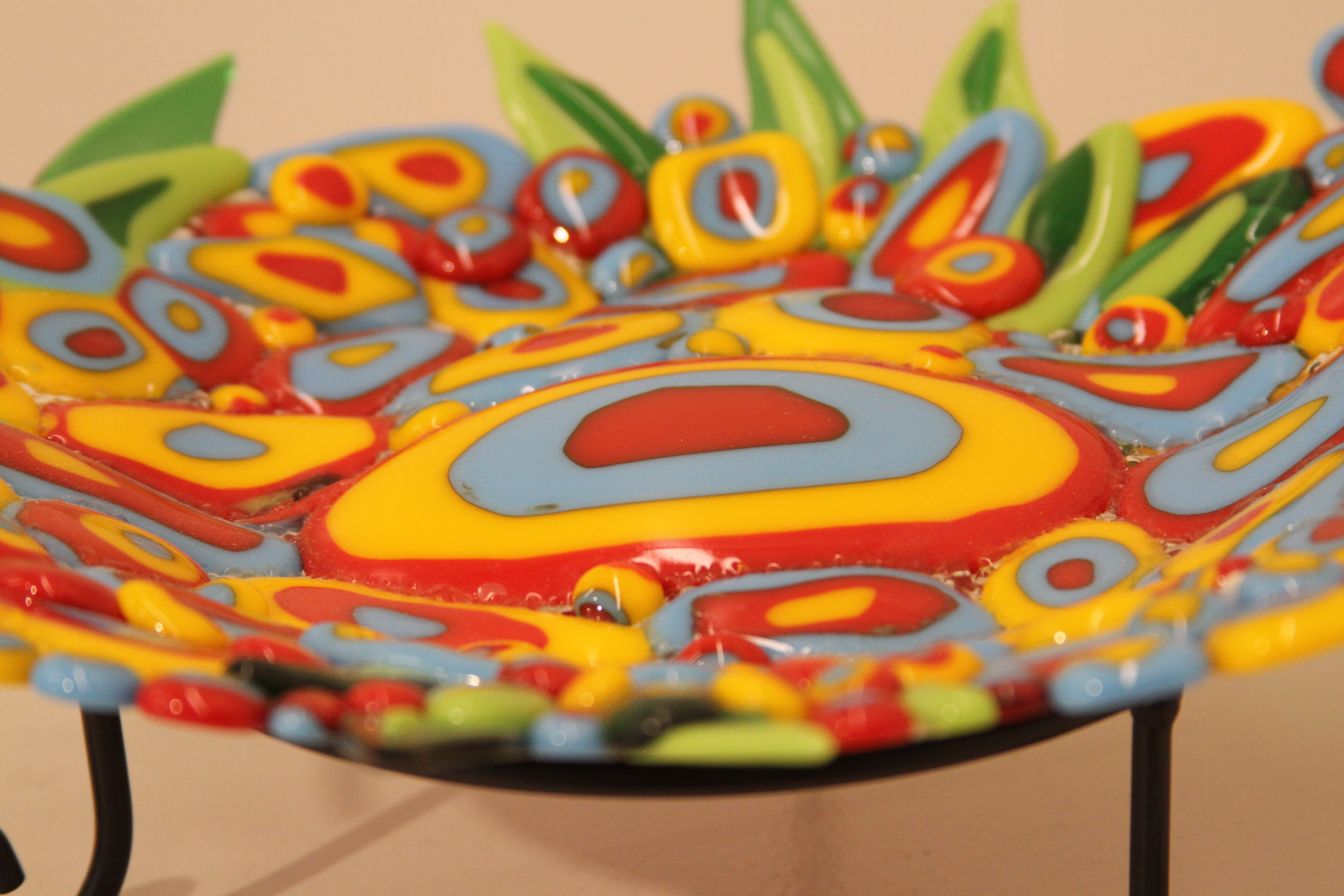 Close Up of a Flower - Plate