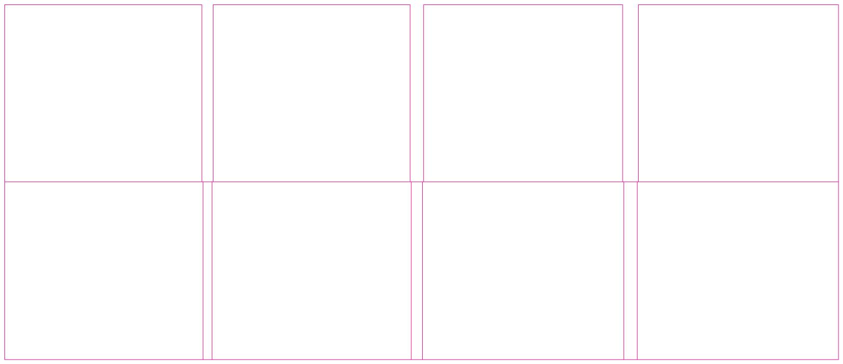 DDC81027 8 Panel Digi 1 Tray, No Pocket (Roll Fold)