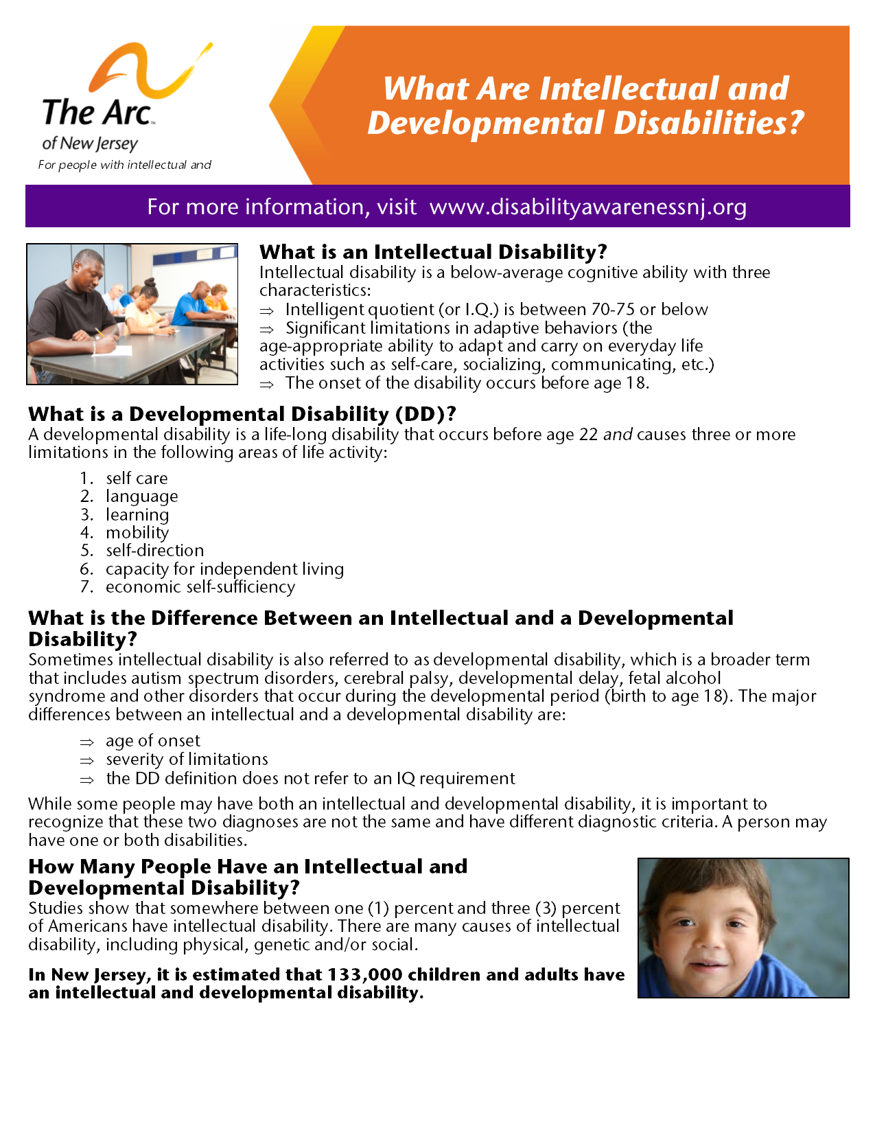 What Are Intellectual and Developmental Disabilities?