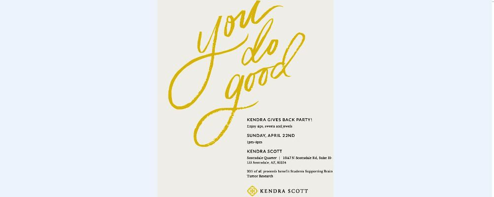 Kendra Scott Flyer