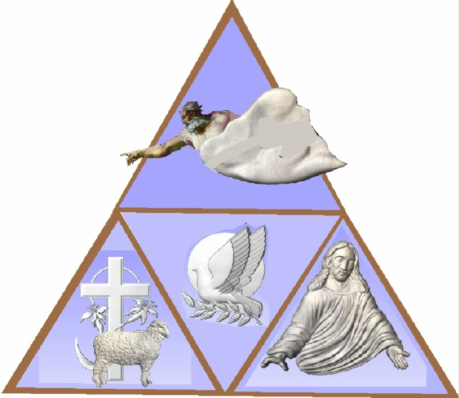 D13374 - Symbology of the Trinity plaque