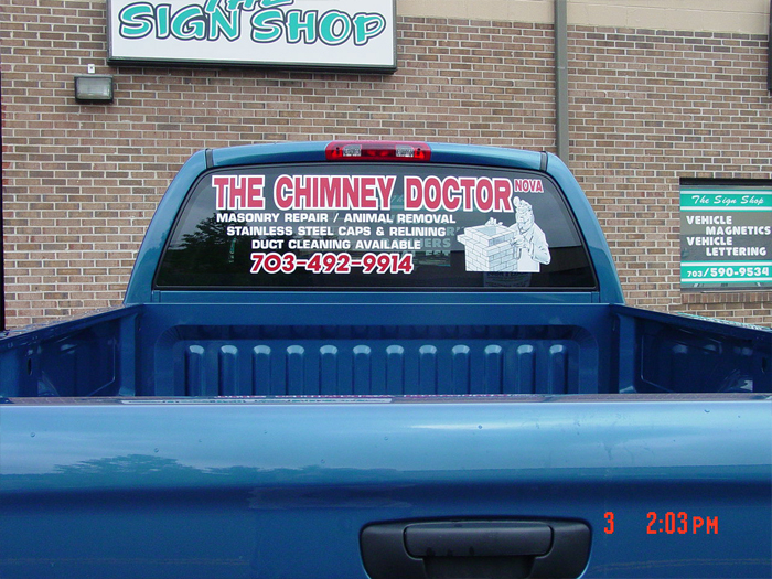 The Chimney Doctor Truck Graphics