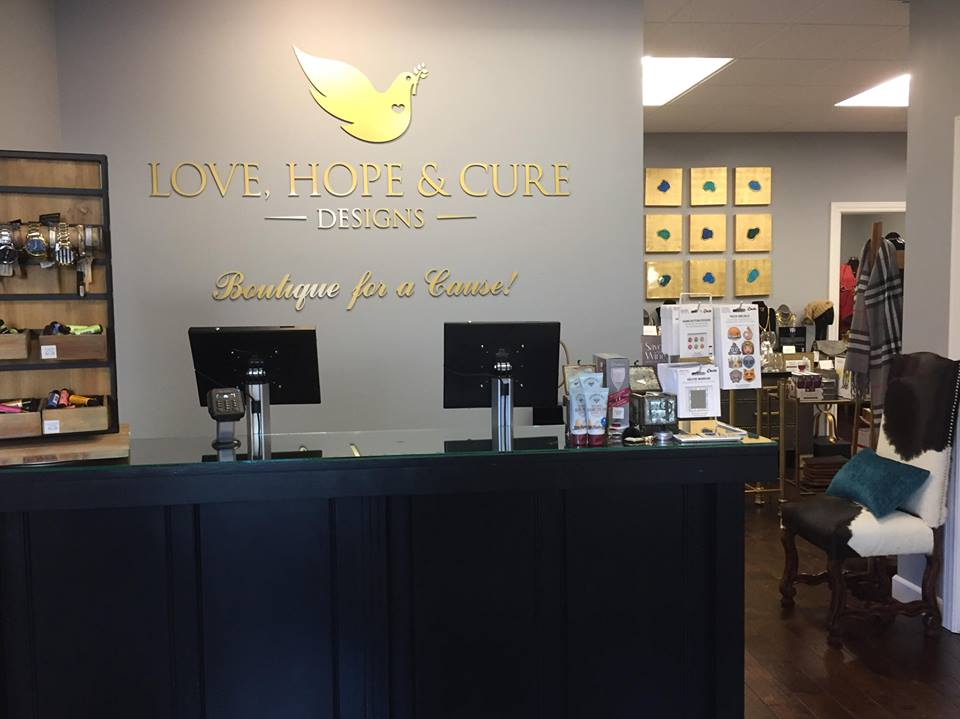 Shop Love Hope Cure Designs