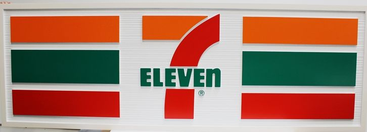 M1710 - Large Wall Sign for a 7-Eleven Store (Galleries 25 and 280
