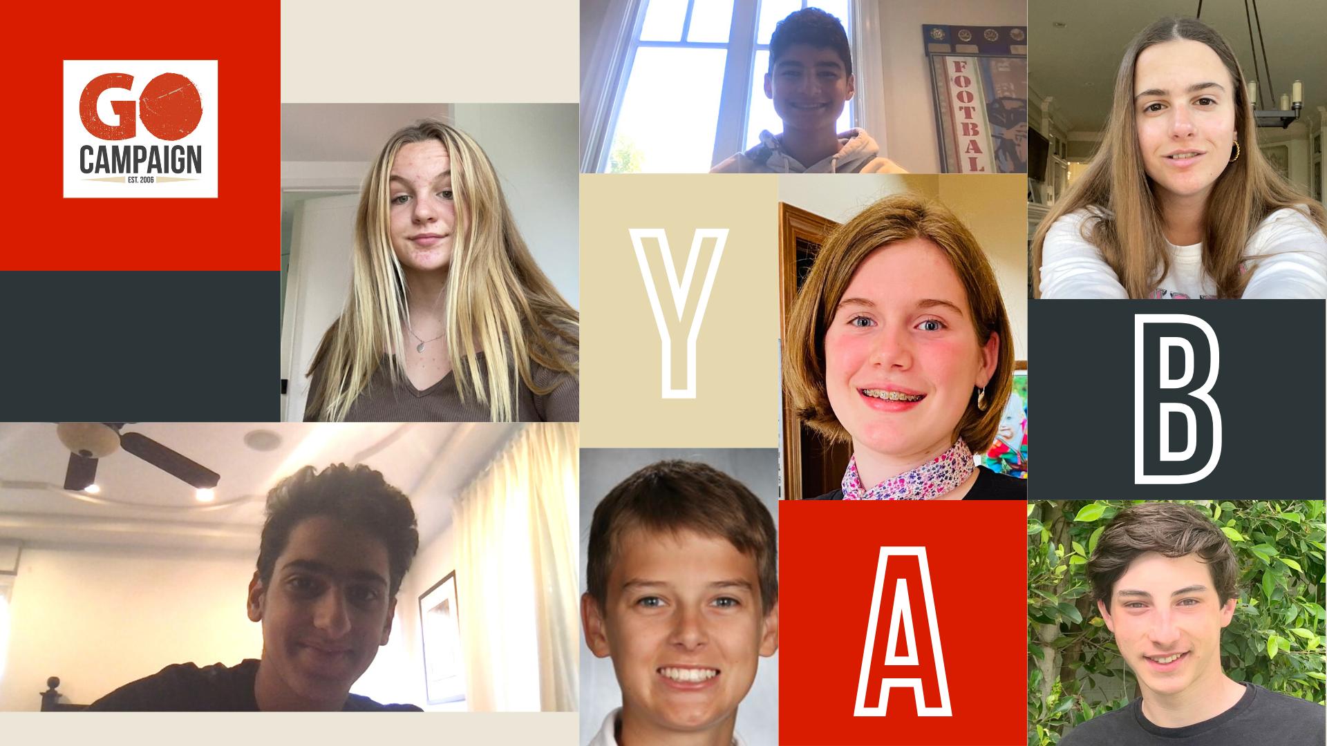 Meet the GO Campaign Youth Advisory Board