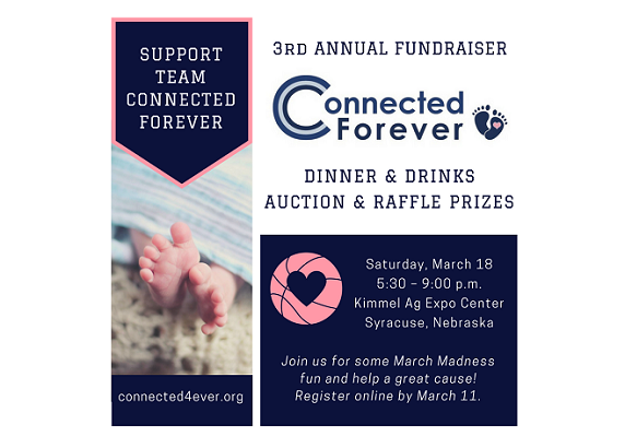 3rd Annual Connected Forever Fundraiser