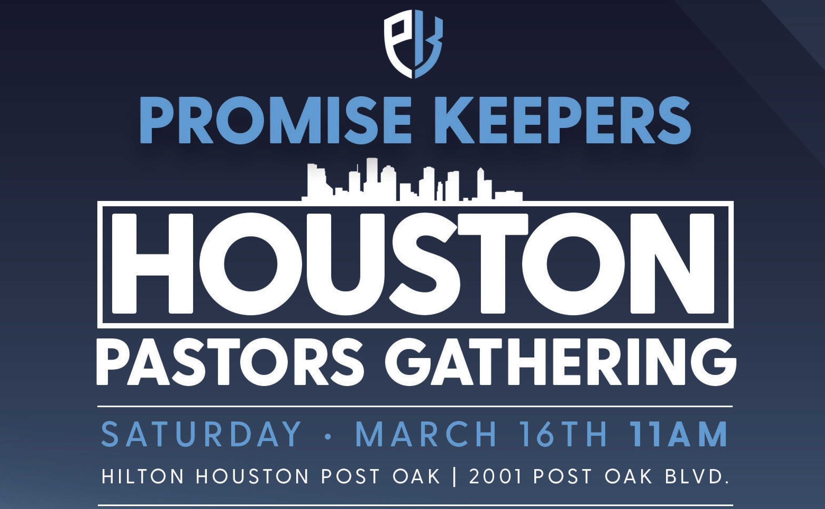 Promise Keepers Houston Pastor Luncheon