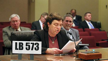 Sandra Schendt, Nelson Clerk/Treasurer