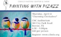 Painting with Pizazz at Herff Farm on April 12th