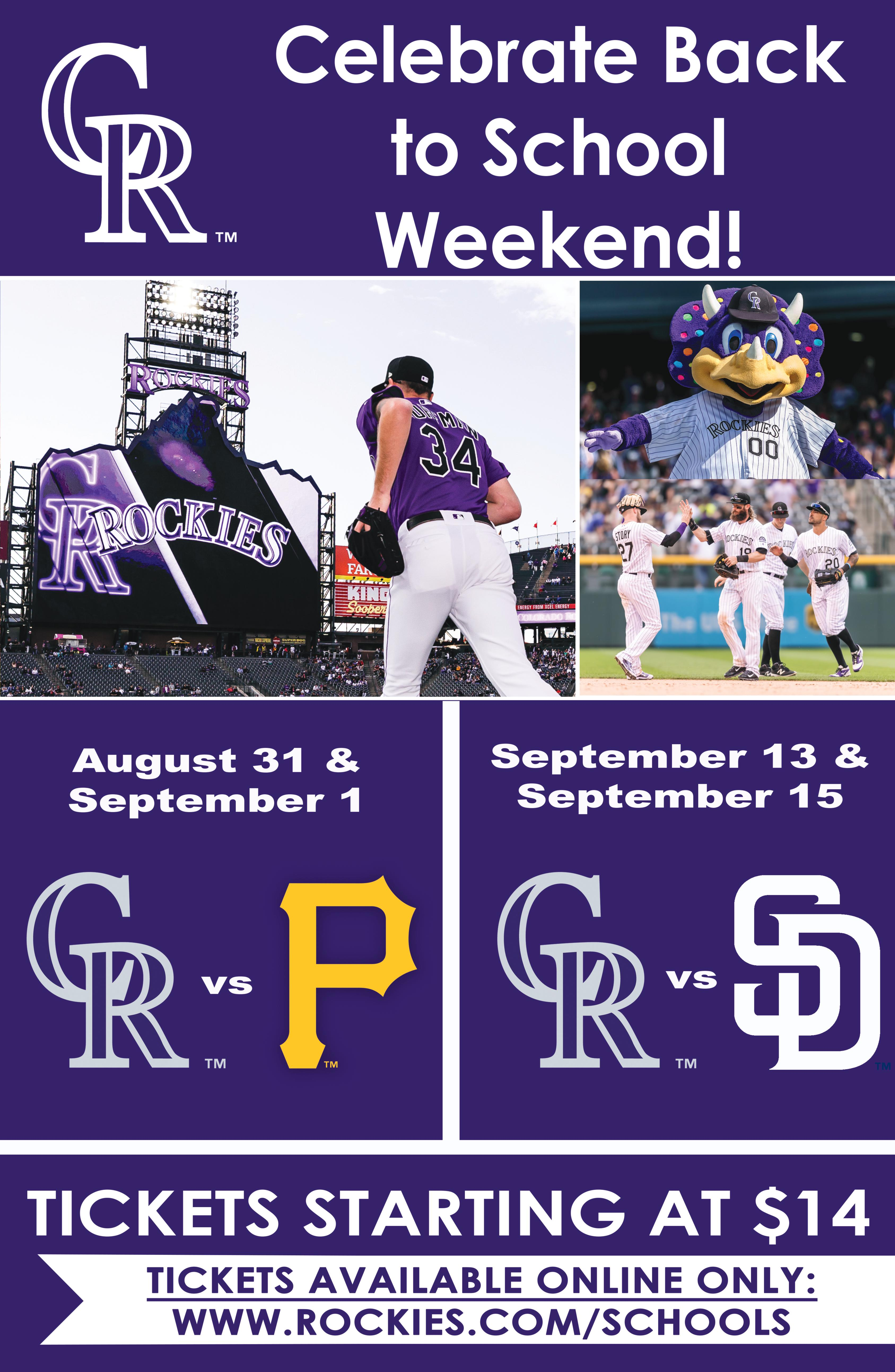 Colorado Rockies Games