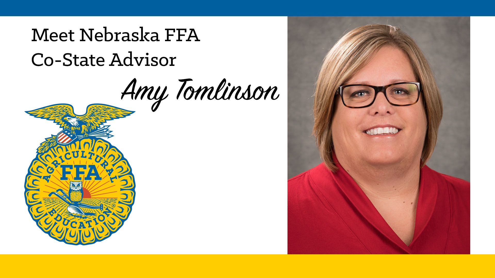 Meet Co-State FFA Advisor: Amy