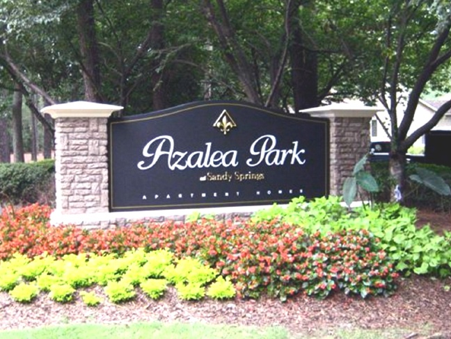 GA16410 - Monument Sign for Sandy Springs Azalea Park
