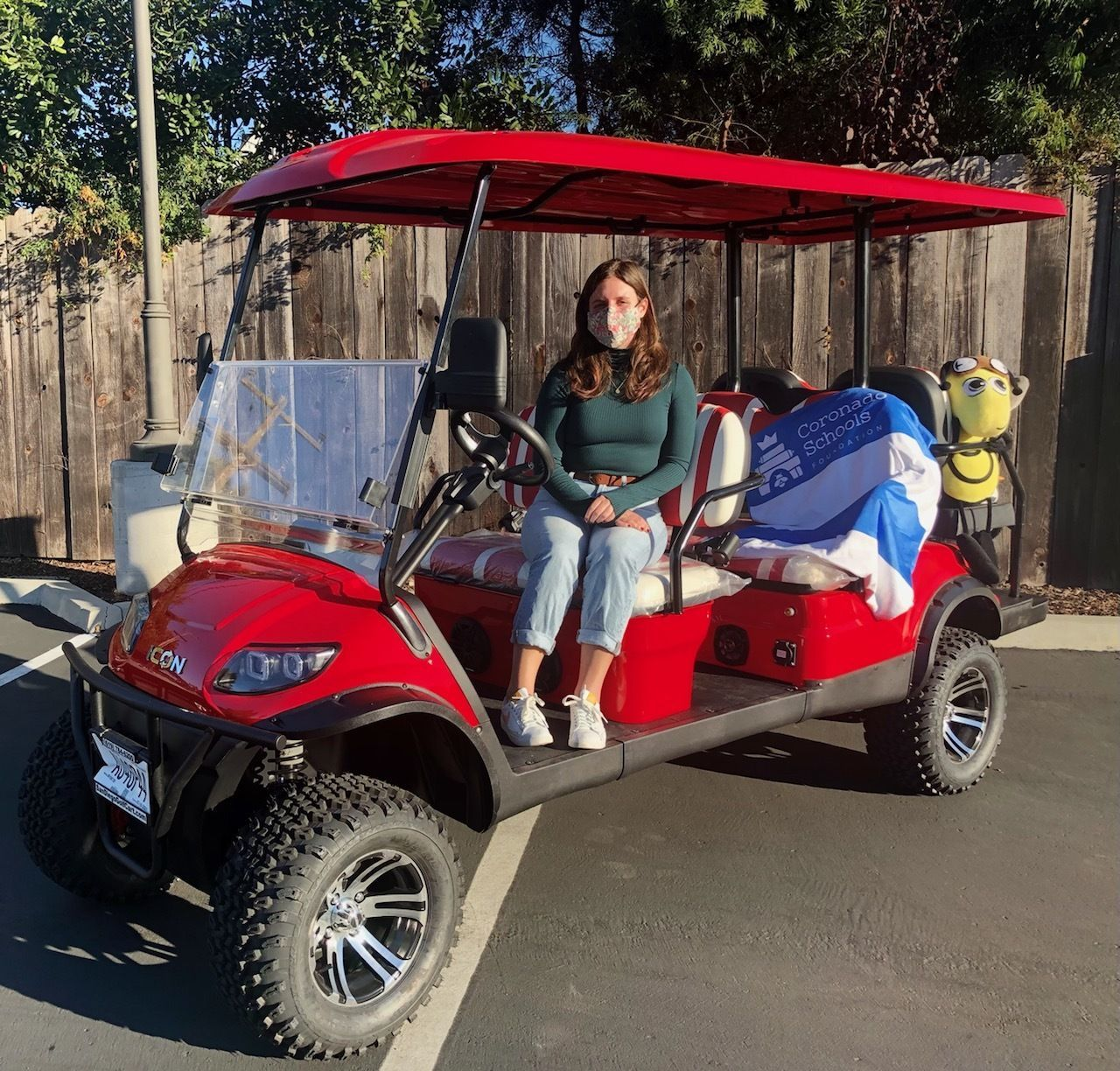 YOU Could Win! CSF Annual Golf Cart Opportunity Drawing