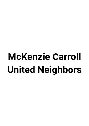 McKenzie United Neighbors