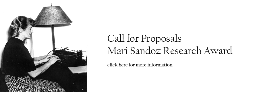 Mari Sandoz Research Award