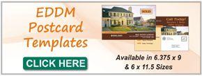EDDM Direct Advertising Templates