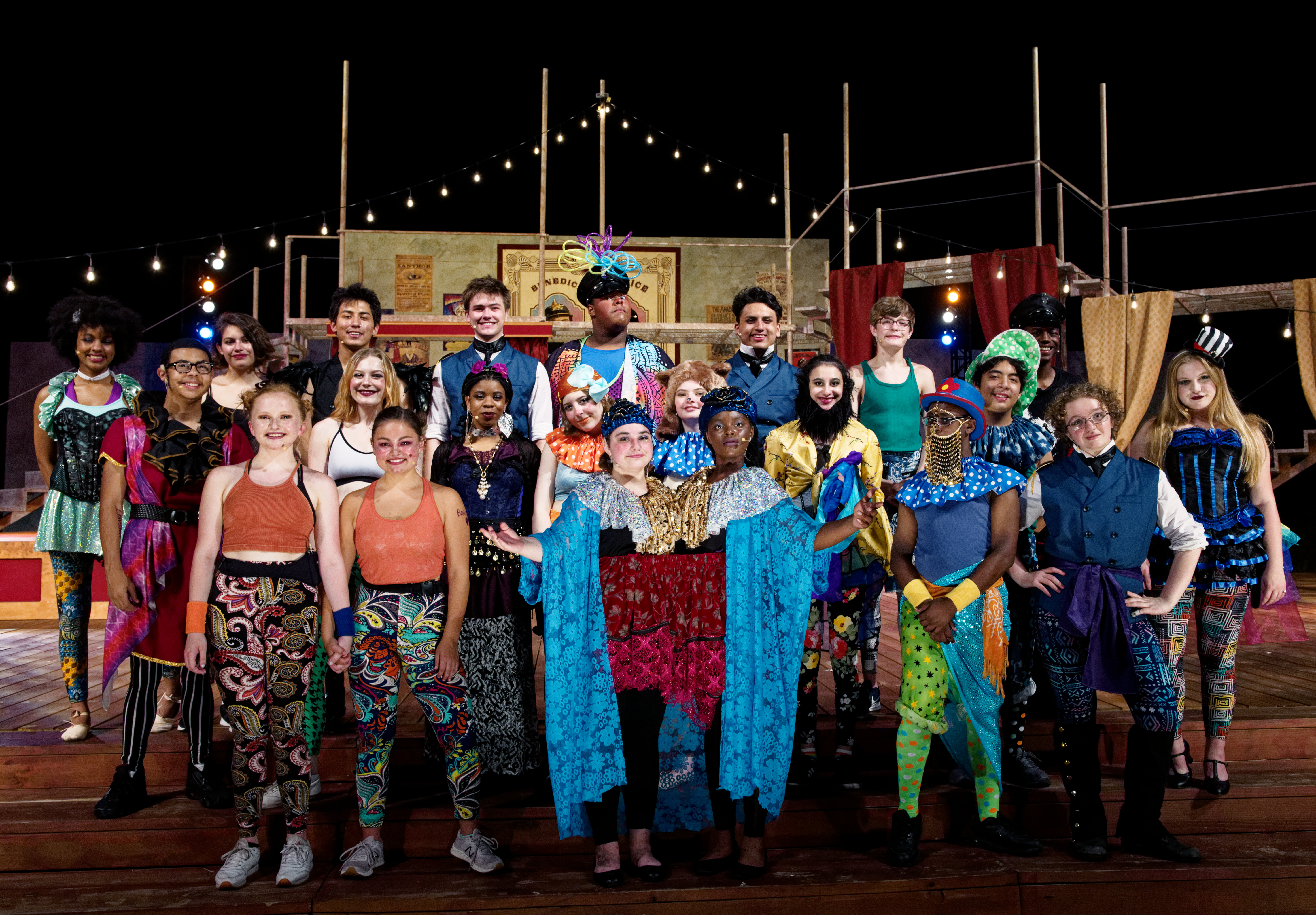 The Greatest Show: Junior Players delights with its circus-themed Much Ado About Nothing