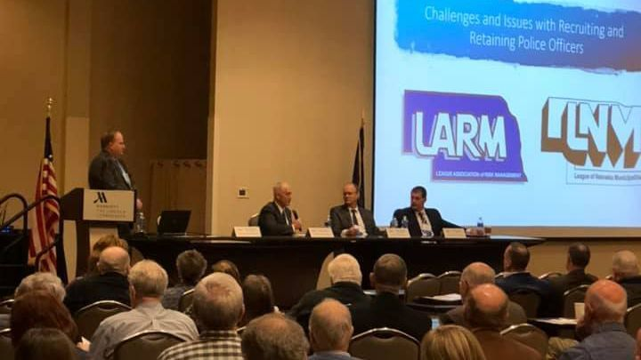 LARM staff present at the League of Nebraska Municipalities Midwinter Conference