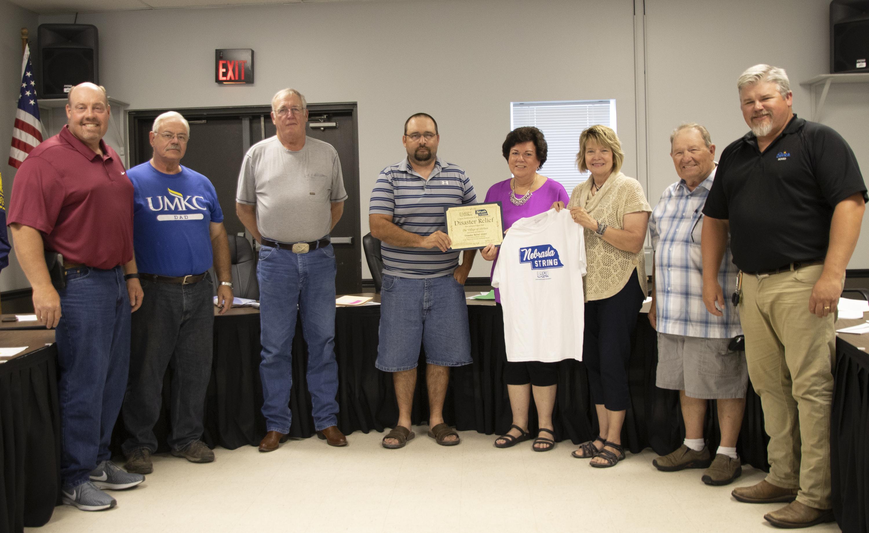 Shelton receives Disaster Funds