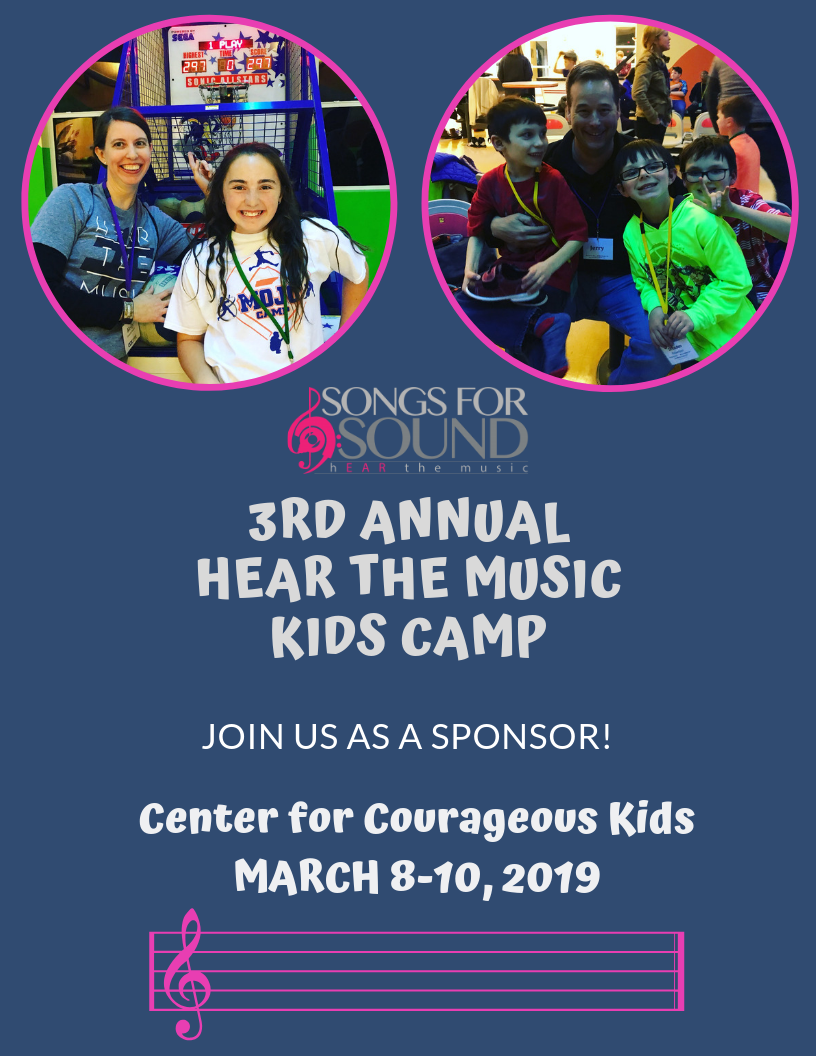 Sponsor our Hear the Music Kids Camp