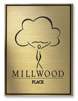 Engraved Lobby Sign