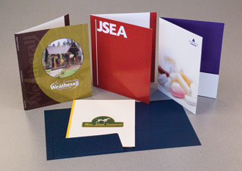 Folders produced in Owings Mills, Maryland.
