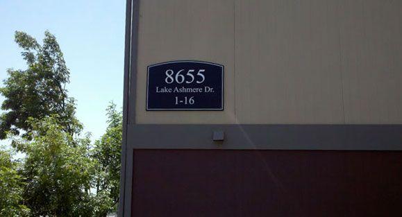 Building ID Signage