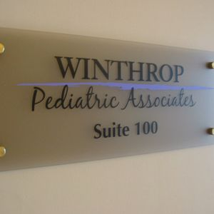 Plaques with Printed Graphics and Standoffs